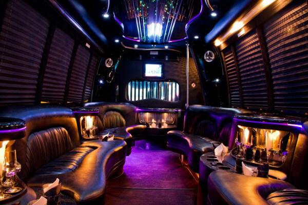 15 Person Party Bus Rental Syracuse