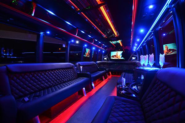 40 Person Party Bus Rental Syracuse